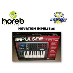 Controlador Midi Novation Impulse 25 Usb ¡oferta!