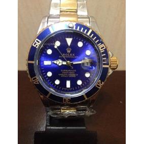 cbcdd85c85e Relogio Rolex Submariner Gold Blue - Relógios De Pulso no Mercado ...
