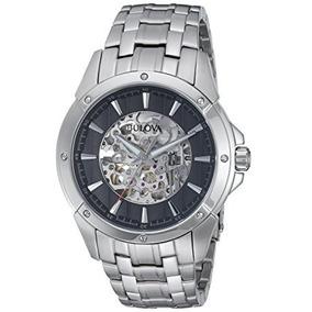 0a3440d176f Relogio Bulova Skeleton 98a108 Automatico - Relógios no Mercado ...