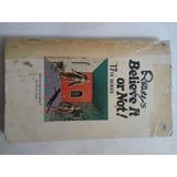 Libro En Inglés Antiguo 1972 Ripley Believe It Or Not