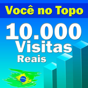 10.000 Visitas Trafego Do Brasil Anúncios E Sites,blogs