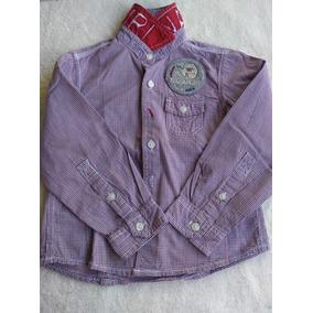 031204aa3 Camisa Cuadrille Nena - Ropa y Accesorios Rojo en Mercado Libre ...
