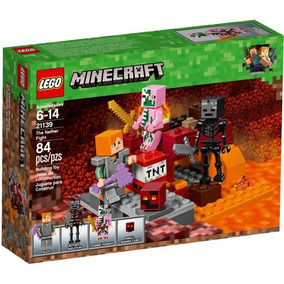 Lego Minecraft Nether - Lego e Blocos de Montar no Mercado Livre Brasil d23e611efb