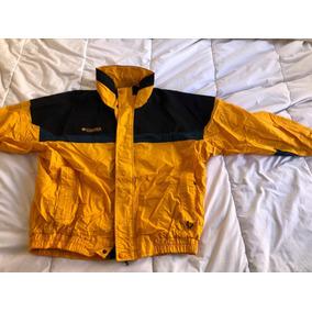 Campera Columbia Hombre Impermeable - Camperas de Hombre Amarillo en ... 24e17eef437