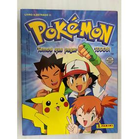 Álbum - Pokémon Temos Que Pegar Todos Panini - Vazio
