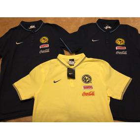 Playera Polo Club America Nike Utileria Original Mediana 1be332d138ea4