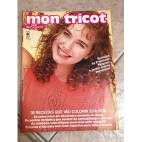 Revista Mon Tricot Nº125 38 Receitas Em Tricô E Crochê - Revistas ... dc53fe73697