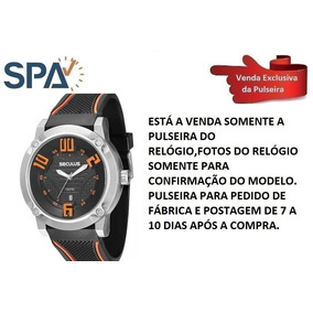72811170d99 Pulseira De Borracha Para Relogio Seculus - Relógios no Mercado ...