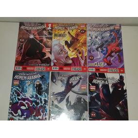 Coleção Hqs Espetacular Homem-aranha Nova Marvel Panini