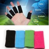 10 Bandagem Proteção Dedos Goleiro Basquete Futebol - Preta