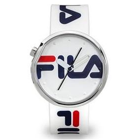 1b6569532d0 Relogio Fila Polaris Branco Dourado - Relógios no Mercado Livre Brasil