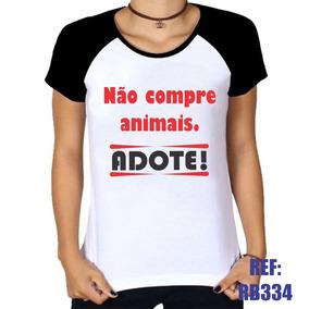 eadddf5bff4bf Camiseta Adotei Luisa Mell - Camisetas e Blusas no Mercado Livre Brasil