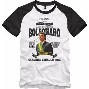 Camisa Camiseta Jair Bolsonaro Presidente 2019 20b957bf7f40b