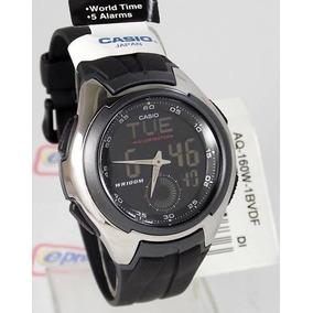 Relógio De Pulso Anadigi Casio Active Dial Aq - 160w