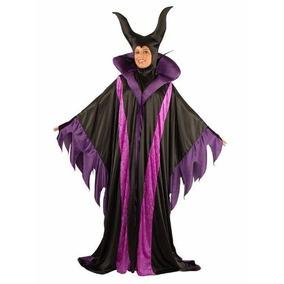 Disfraz Mujer Bruja Malefica Disney Halloween Modelo Clasico