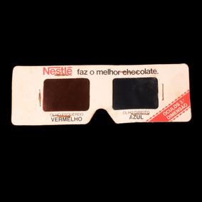 Óculos Publicitários Em 3d Da Década De 1980