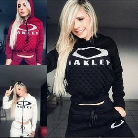 Conjunto Moletom Oakley Instagram Moda 2018