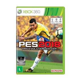 Jogo Mídia Física Pro Evolution Soccer Pes 2018 Xbox 360