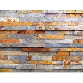 Piedra Oxido Natural Importada 15x60 Por Placa