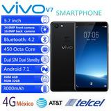Vivo V7 4g Phablet 5.7 Pulgada Android 7.1 4gb Ram 32gb Rom