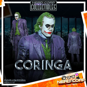 Estátua Em Resina Joker / Coringa (ledger)