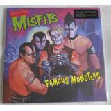 Misfits Famous Monsters Lp Preto 180 Gramas Audiophile 12 X