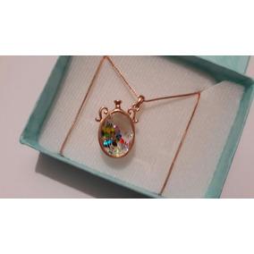 bb3bf0933015 Collar De Jarron Oro Rosa Con Critales Multicolor Envio Grat