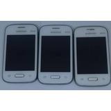 1° Samsung Galaxy G110b/ds Branco Com Defeito Sem Garantia