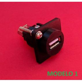 Plug Conector Batrik Usb Semelhante Ao Neutrik Nausb-w