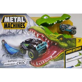 Pista Metal Machines Croc Attack Crocodilo Candide 8704