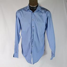 Calvin Klein Camisa Azul Claro 34/35 Msrp $1130