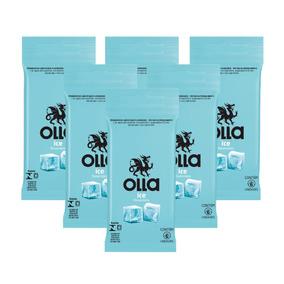 Kit Olla Preservativo Ice 6uni. Com 6 Packs - Cor Incolor
