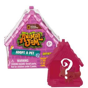 Animal Jam Casinha Surpresa Adotando Um Mascote Fun 81132