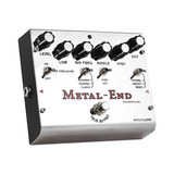 Biyang Metal-end Pedal De Efectos De 1#