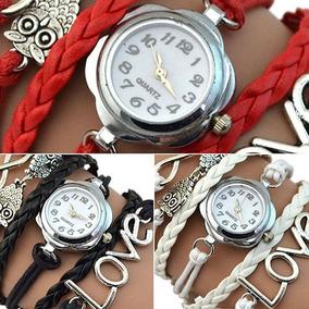 Reloj Fashion Love / Buho Para Dama