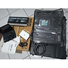 Mesa Yamaha 01v96i + Case + Adat + Netbook + Roteador.