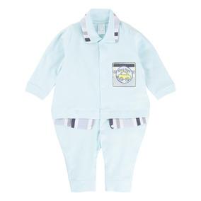 Lote Macacão De Plush Bordados Petutinha - Roupas de Bebê Azul claro ... 5a018514b99