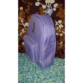 Mochila Backpack Lila Conejo Para Niña