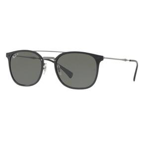 f73e58d02ce3d Oculos Sol Ray Ban Rb4286 601 9a 55mm Preto Brilh Polarizada