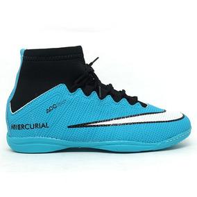 2baad842f1 Chuteira Nike Mercurial Superfly Futsal Lancamento - Chuteiras Azul ...