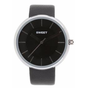 Reloj Sweet Acero Malla Cuero 7240 Garantía 12m. Tienda Ofi