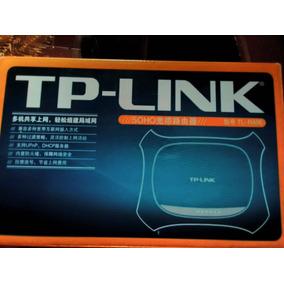 Tp-link Soho Tl R406 Nuevo 10/100m 4 Puertos