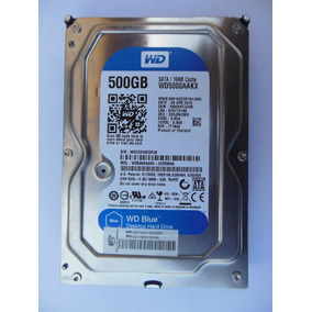 Disco Duro Western Digital Wd Blue 500gb 7200rpm