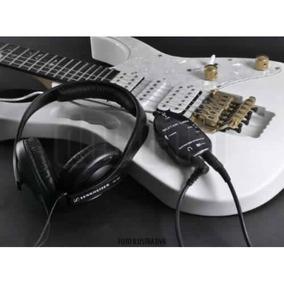 Interface De Aúdio Para Vocal Guitarra Baixo Teclado