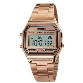 d215b2da01f Relogio Digital Feminino Rose - Relógios De Pulso no Mercado Livre ...