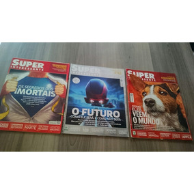 3 Revistas Super Interessante Ano 2012 303 308 310