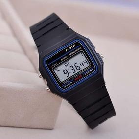 da4b00d319d Relogio Classico Casio F91w Preto - Relógios no Mercado Livre Brasil