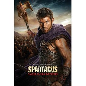 Spartacus - As 4ª Temporadas Completas Dublado