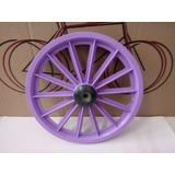 Roda Dianteira Aro 16 Lilás 14 Palitos S/eixo Bike Infantil.