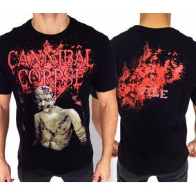 Camiseta Cannibal Corpse E882 Consulado Do Rock Camisa Banda 610d092f6fe